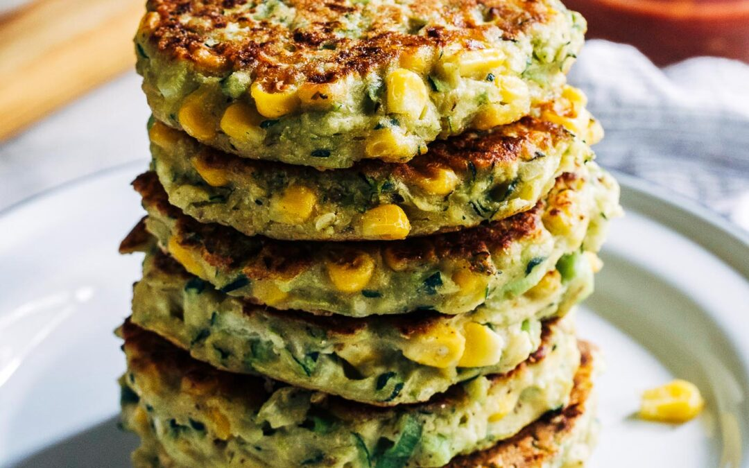 Healthy Zucchini & Corn Fritters