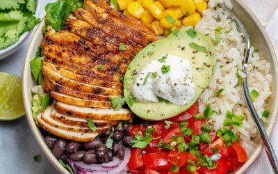 Healthy Burrito Bowl